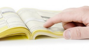 Copywriting replaces yellow pages