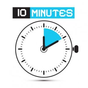 Ten minute copy writing job
